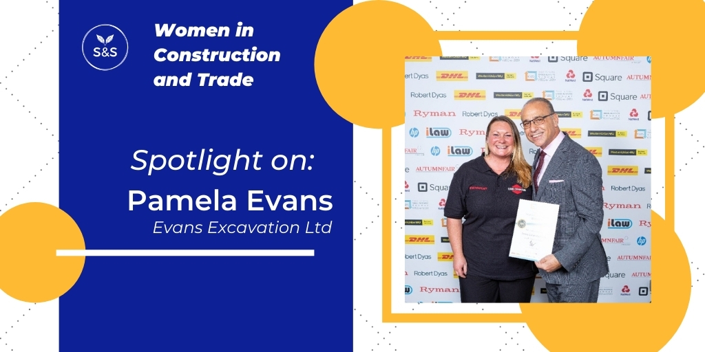 Pamela Evans Evans Excavation Women in Construction and Trade Header