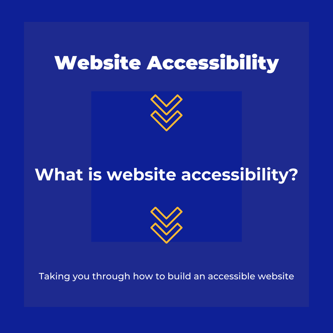 Website Accessibility: using header tags to direct attention